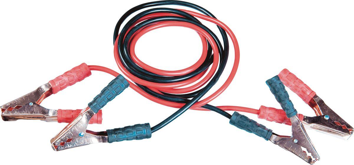 Провод вспомогательного запуска AM, открытые зажимы, морозостойкая изоляция, 300A, 2,5 м, цвет: черно-розовыйVA4223 BD1Зажимы изолированные из морозостойкого материала. Морозостойкая изоляция. -40+80 С, длина 2.5 м. 2 шт. в сумке, из алюминия плакированного медью