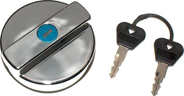 Пробка бензобака DolleX, для ВАЗ-2101-2107, 2121, с ключом, цвет: хром авто ваз 2121 и2131 в беларуси