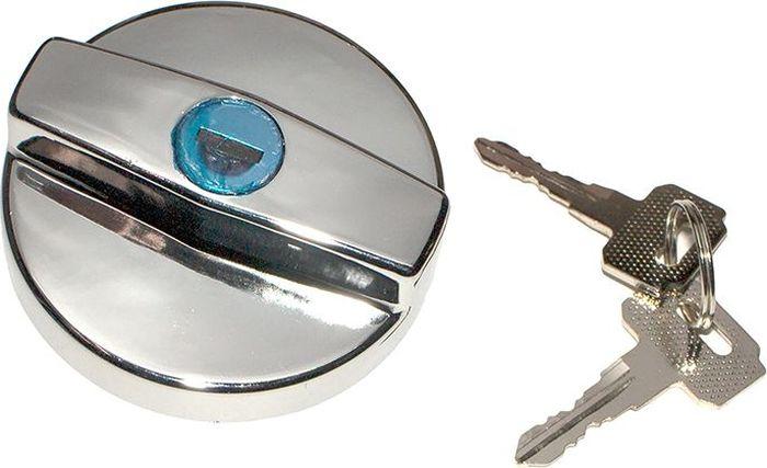 Пробка бензобака DolleX, для ВАЗ-2108-2115, с ключом, цвет: хромDH2400D/ORПробка бензобака защищает ваш автомобиль от противоправных действий. Подбирайте пробки согласно применяемости для вашего автомобиля. В комплекте 2 ключа, металлическая личинка.