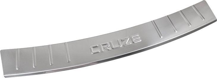 Накладка бампера декоративная DolleX, для CHEVROLET Cruze хэтчбэк (2011-2013)NB.2310.1Придают автомобилю стильный и неповторимый вид, эффективно защищает бампер от повреждения лакокрасочного покрытия.Отличительные особенности:- Полированная нержавеющая сталь;- Толщина стали 0,5 мм.;- Стильный внешний вид;- Легкая и быстрая установка;- Крепление лента липкая двухсторонняя.