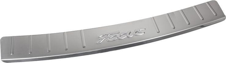 Накладка бампера декоративная DolleX, для FORD Focus 3DH2400D/ORПридают автомобилю стильный и неповторимый вид, эффективно защищает бампер от повреждения лакокрасочного покрытия.Отличительные особенности:- Полированная нержавеющая сталь;- Толщина стали 0,5 мм.;- Стильный внешний вид;- Легкая и быстрая установка;- Крепление лента липкая двухсторонняя.