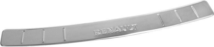 Накладка бампера декоративная DolleX, для RENAULT Logan (2014->)А508Придают автомобилю стильный и неповторимый вид, эффективно защищает бампер от повреждения лакокрасочного покрытия.Отличительные особенности:- Полированная нержавеющая сталь;- Толщина стали 0,5 мм.;- Стильный внешний вид;- Легкая и быстрая установка;- Крепление лента липкая двухсторонняя.