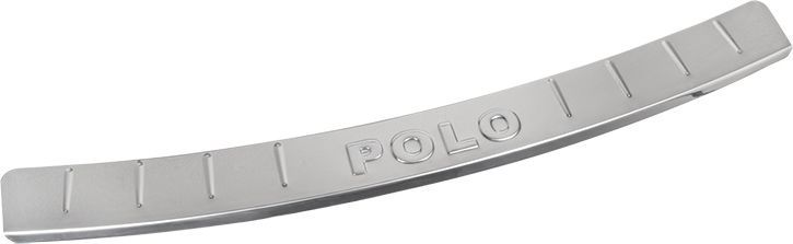 Накладка бампера декоративная DolleX, для VW Polo (2009-2014)NSK-105Придают автомобилю стильный и неповторимый вид, эффективно защищает бампер от повреждения лакокрасочного покрытия.Отличительные особенности:- Полированная нержавеющая сталь;- Толщина стали 0,5 мм.;- Стильный внешний вид;- Легкая и быстрая установка;- Крепление лента липкая двухсторонняя.
