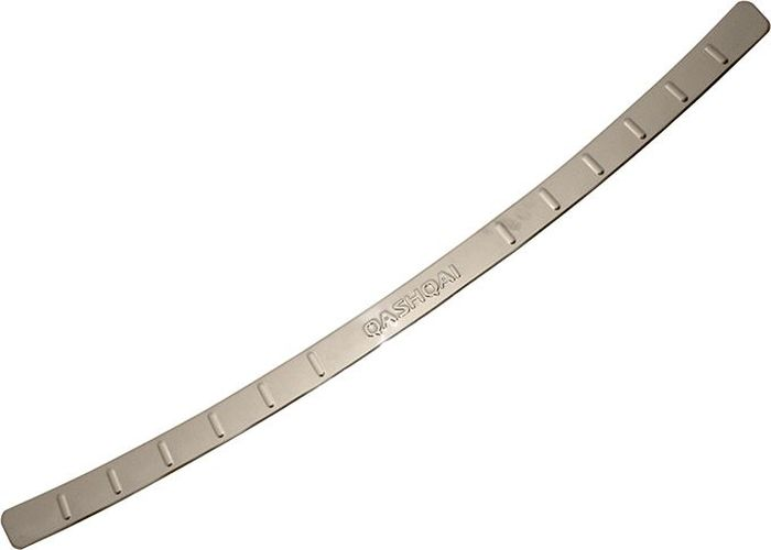 Накладка бампера декоративная DolleX, для NISSAN Qashqai (2013-2015), штамп NISSANAC-FC-01Придают автомобилю стильный и неповторимый вид, эффективно защищает бампер от повреждения лакокрасочного покрытия.Отличительные особенности:- Полированная нержавеющая сталь;- Толщина стали 0,5 мм.;- Стильный внешний вид;- Легкая и быстрая установка;- Крепление лента липкая двухсторонняя.
