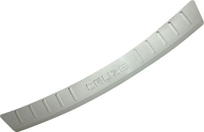 Накладка бампера декоративная DolleX, для CHEVROLET Cruze универсал (2012->). NBN-003Ветерок 2ГФПридают автомобилю стильный и неповторимый вид, эффективно защищает бампер от повреждения лакокрасочного покрытия.Отличительные особенности:- Полированная нержавеющая сталь;- Толщина стали 0,5 мм.;- Стильный внешний вид;- Легкая и быстрая установка;- Крепление лента липкая двухсторонняя.