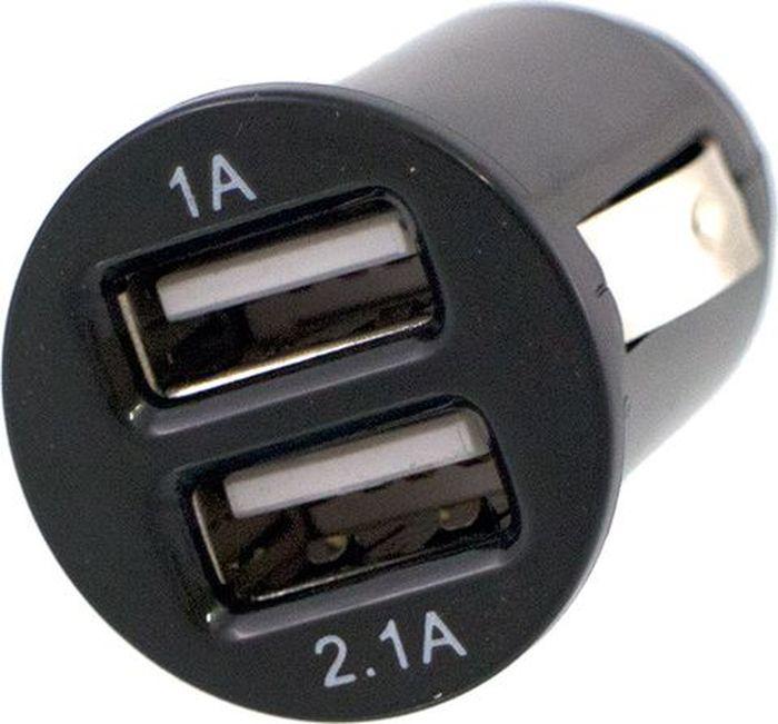 Разветвитель прикуривателя DolleX, на 2 гнезда USB, 1000 mA и 2100 mA21395598Разветвитель на 2 USB 1000 mA и 2100 mA. Рабочее напряжение 12В Разъем USB 1000mA: предназначен для зарядки MP3, iPod, iPhone, смартфонов и мобильных телефонов. Разъем USB 2100mA: Предназначен для зарядки всех типов планшетных компьютеров (iPad, Galaxy Tab)