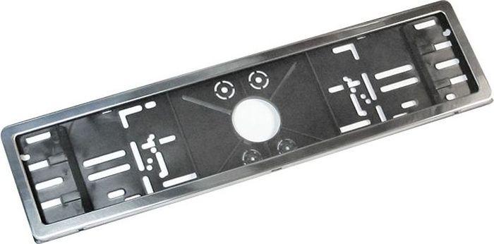 Рамка номерного знака DolleX, с адаптером в сборе. SPL-30Ветерок 2ГФРамка номерного знака изготовлена из нержавеющей стали 0,5 мм. В комплекте адаптер из высококачественного полипропилена. Адаптирована под номерной знак РФ. Стильный внешний вид. Крепеж в комплекте. Поверхность из полированной нержавеющей стали защищает наклеенная полиэтиленовая пленка. Снимите её после установки рамки на автомобиль. Остатки клея удалите сухой тряпкой.