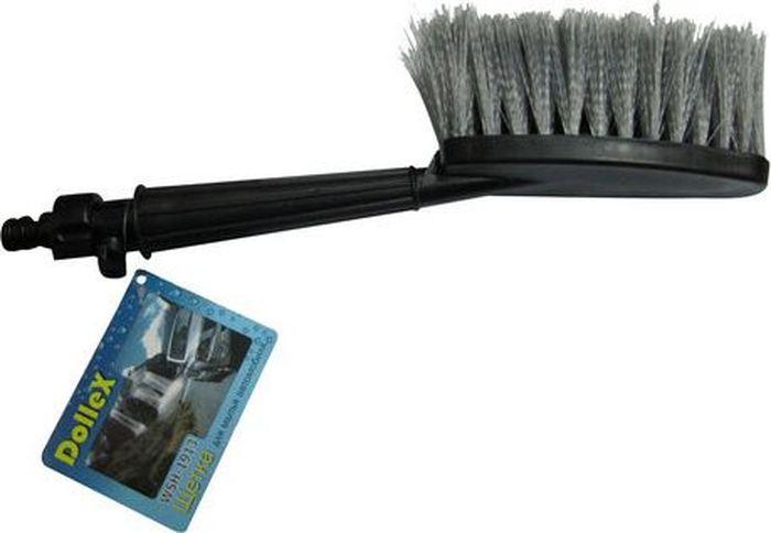 Щетка сметка DolleX, для мытья автомобиля под шланг, с краником 36 смWSH-1913Размер: 36 см. Идеально подходит для мытья автомобиля. Возможность подачи воды. Мягкая щетина. Штуцер под универсальный коннектор. Может использоваться в зимний период для очистки от снега. Материал: полипропилен, пластик (abs)