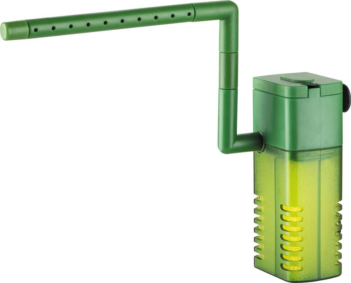 Фильтр внутренний Barbus WP-300F, с аэратором и флейтой, 150 л/ч, 2 Вт0120710Фильтр внутренний с аэратором и флейтой (150 л/ч; 2 Ватт) WP- 300F