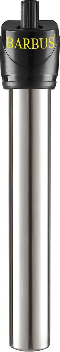 Обогреватель для аквариума Barbus Новое поколение, с терморегулятором, 25 Вт, длина шнура 150 смHEATER 008Обогреватель терморегулятор Нового поколения, металл (25 Ватт; 150 см электрошнур)