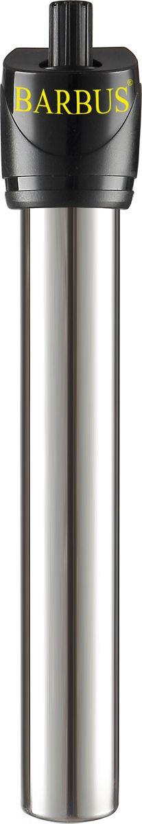 Обогреватель для аквариума Barbus Новое поколение, с терморегулятором, 50 Вт, длина шнура 150 смHEATER 009Обогреватель терморегулятор Нового поколения, металл (50 Ватт; 150 см электрошнур)