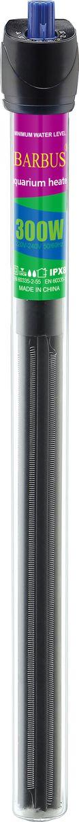 Обогреватель для аквариума Barbus Профессиональный, с терморегулятором, 300 Вт, длина шнура 200 см12171996Обогреватель терморегулятор Профессиональный, кварц (300 Ватт; 200 см электрошнур)
