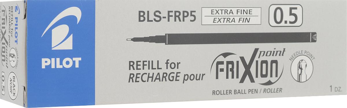 Pilot Набор стержней для гелевой ручки Frixion цвет черный 12 шт72523WDНабор стержней для гелевой ручки Pilot Frixion черного цвета. Набор включает в себя 12 стержней.Диаметр шарика - 0,5 мм, ширина линии - 0,25 мм.