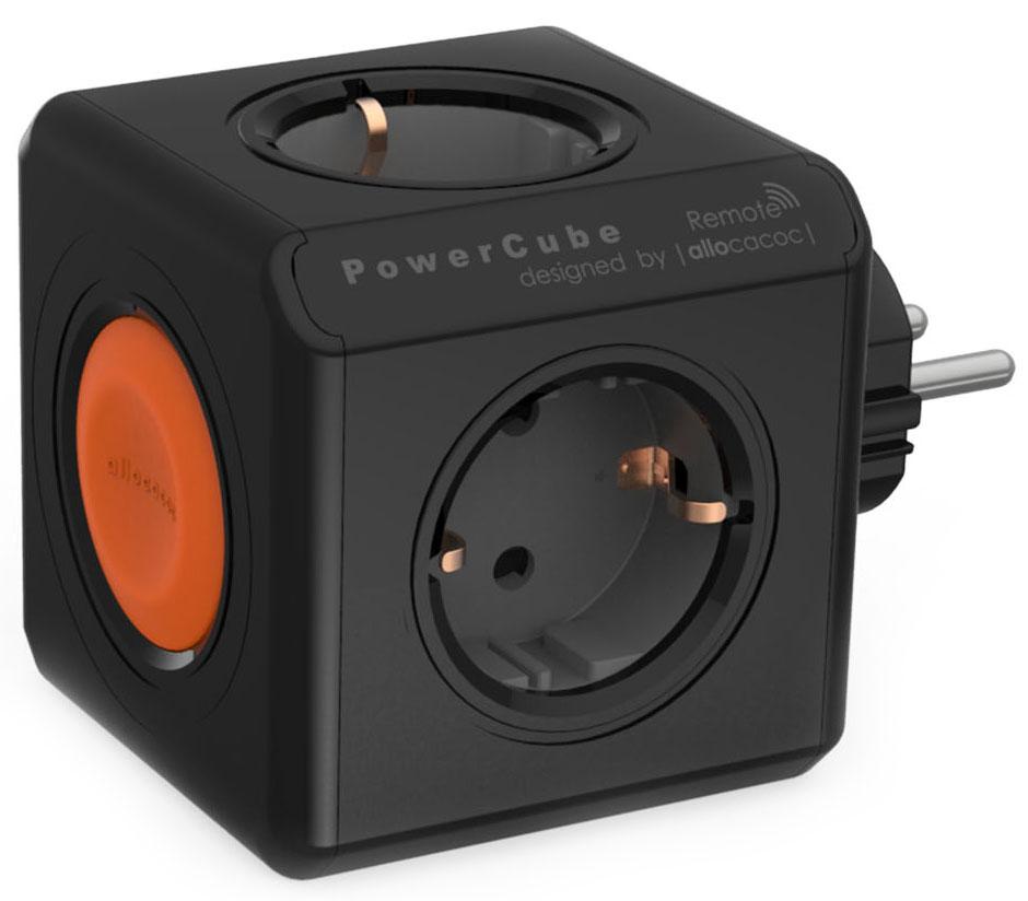 Allocacoc PowerCube Remote, Black сетевой разветвитель695003Дистанционное управление