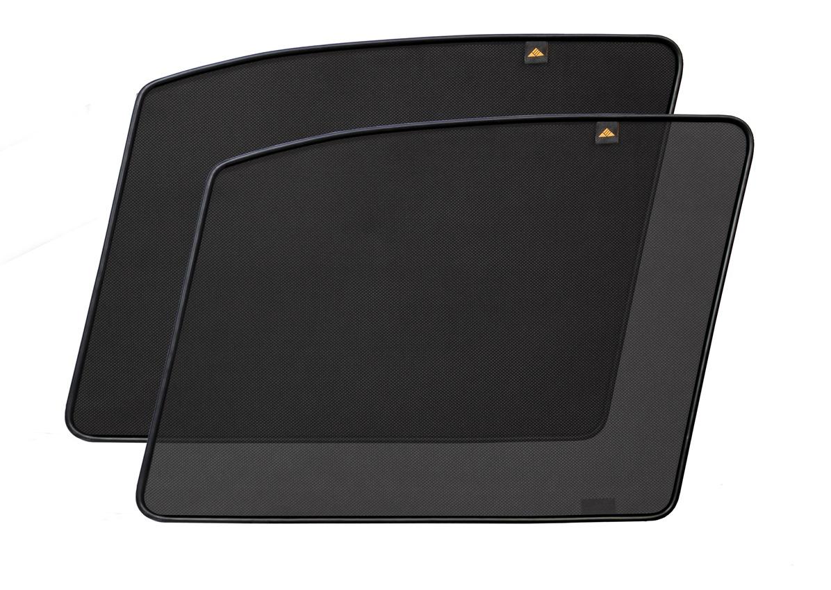 Набор автомобильных экранов Trokot для Nissan Tiida (2004-2014), на передние двери, укороченныеTR0660-03Каркасные автошторки точно повторяют геометрию окна автомобиля и защищают от попадания пыли и насекомых в салон при движении или стоянке с опущенными стеклами, скрывают салон автомобиля от посторонних взглядов, а так же защищают его от перегрева и выгорания в жаркую погоду, в свою очередь снижается необходимость постоянного использования кондиционера, что снижает расход топлива. Конструкция из прочного стального каркаса с прорезиненным покрытием и плотно натянутой сеткой (полиэстер), которые изготавливаются индивидуально под ваш автомобиль. Крепятся на специальных магнитах и снимаются/устанавливаются за 1 секунду. Автошторки не выгорают на солнце и не подвержены деформации при сильных перепадах температуры. Гарантия на продукцию составляет 3 года!!!