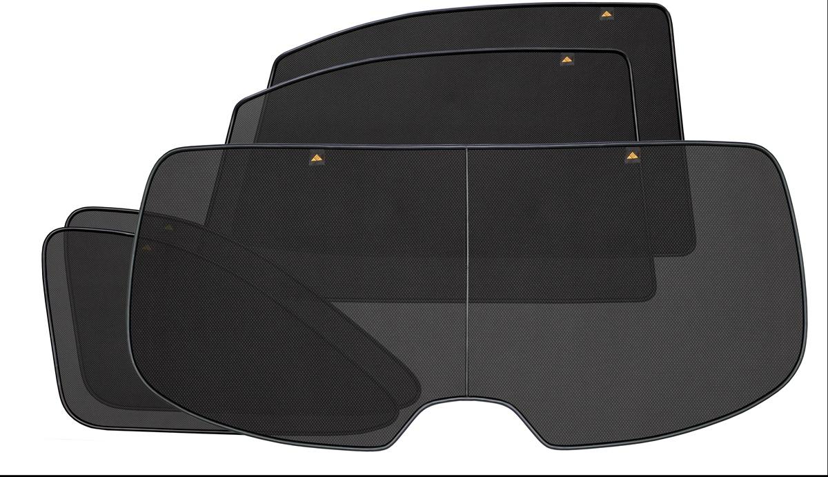 Набор автомобильных экранов Trokot для VW Caravelle T5, (2003-2015), с двумя задними дверьми, на заднюю полусферу, 5 предметовВетерок 2ГФКаркасные автошторки точно повторяют геометрию окна автомобиля и защищают от попадания пыли и насекомых в салон при движении или стоянке с опущенными стеклами, скрывают салон автомобиля от посторонних взглядов, а так же защищают его от перегрева и выгорания в жаркую погоду, в свою очередь снижается необходимость постоянного использования кондиционера, что снижает расход топлива. Конструкция из прочного стального каркаса с прорезиненным покрытием и плотно натянутой сеткой (полиэстер), которые изготавливаются индивидуально под ваш автомобиль. Крепятся на специальных магнитах и снимаются/устанавливаются за 1 секунду. Автошторки не выгорают на солнце и не подвержены деформации при сильных перепадах температуры. Гарантия на продукцию составляет 3 года!!!