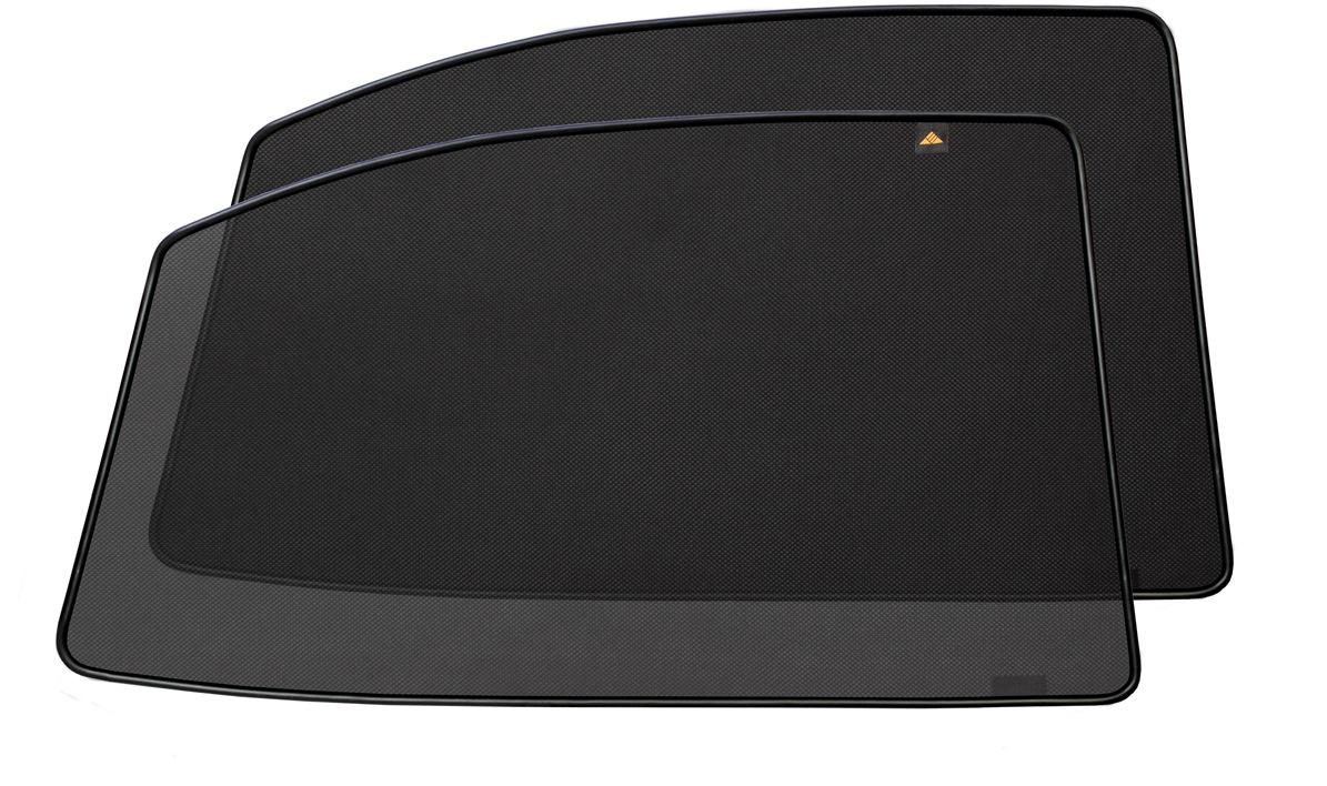 Набор автомобильных экранов Trokot для Toyota Vitz 2 (XP90) (2005-2010) правый руль, на задние двериTR0359-04Каркасные автошторки точно повторяют геометрию окна автомобиля и защищают от попадания пыли и насекомых в салон при движении или стоянке с опущенными стеклами, скрывают салон автомобиля от посторонних взглядов, а так же защищают его от перегрева и выгорания в жаркую погоду, в свою очередь снижается необходимость постоянного использования кондиционера, что снижает расход топлива. Конструкция из прочного стального каркаса с прорезиненным покрытием и плотно натянутой сеткой (полиэстер), которые изготавливаются индивидуально под ваш автомобиль. Крепятся на специальных магнитах и снимаются/устанавливаются за 1 секунду. Автошторки не выгорают на солнце и не подвержены деформации при сильных перепадах температуры. Гарантия на продукцию составляет 3 года!!!