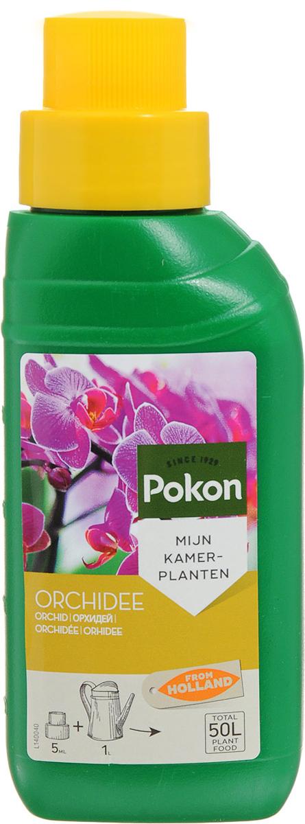 Удобрение Pokon, для орхидей, 250 млC0042416Для сохранения своей красоты орхидеям необходим правильный уход! Удобрение Pokon - это сбалансированное, специально разработанное средство, предназначенное, для подкормки орхидей, которое способствует продолжительному цветению.Удобрение содержит раствор питательных веществ с соотношением NPK 5 + 6 + 7, а также добавки других микроэлементов.Уважаемые клиенты! Обращаем ваше внимание на возможные изменения в дизайне упаковки. Качественные характеристики товара остаются неизменными. Поставка осуществляется в зависимости от наличия на складе.Удобрение соответствует нормам ЕС.Товар сертифицирован.Объем: 250 мл.