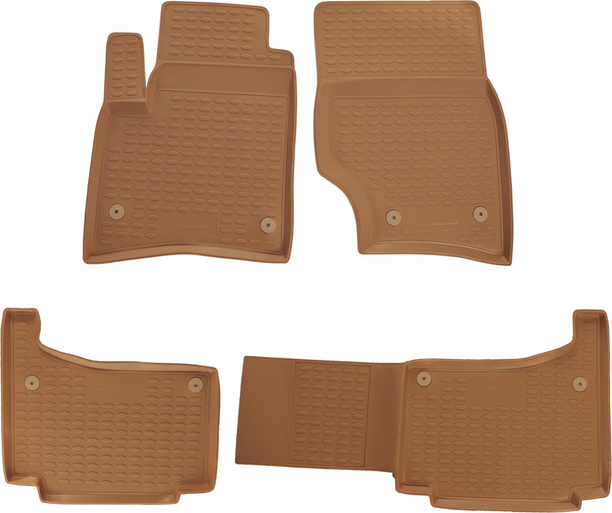 Набор автомобильных ковриков Novline-Autofamily для Volkswagen Touareg 10/2002-, в салон, 4 шт21395599Набор автомобильных ковриков Novline-Autofamily, изготовленный из полиуретана, состоит из 4 ковриков, которые учитывают все особенности каждой модели автомобиля и полностью повторяют контуры пола. Полиуретановые автомобильные коврики для салона произведены из высококачественного материала, который держит форму, прочный и не пачкает обувь. Коврики в салон не только улучшат внешний вид салона вашего автомобиля, но и надежно уберегут его от пыли, грязи и сырости, а значит, защитят кузов от коррозии. Полиуретановые коврики для автомобиля гладкие, приятные и не пропускают влагу. Ковры для автомобилей надежно крепятся на полу и не скользят, что очень важно во время движения. Чистятся коврики очень просто: как при помощи автомобильного пылесоса, так и различными моющими средствами. Набор подходит для Volkswagen Touareg октябрь с октября 2002 года выпуска.