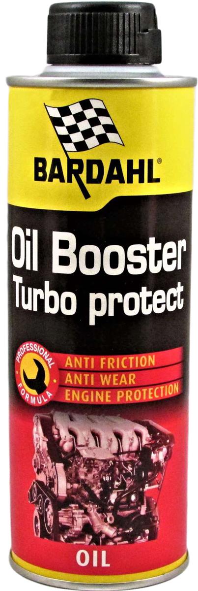 Присадка многофункциональная Bardahl Oil Booster/Turbo Protect, в моторное масло, 300 мл1210Присадка Bardahl Oil Booster создана специально для улучшения антиизносных свойств масла, защиты картриджа турбины. Может добавляться в любое масло, при любом пробеге.