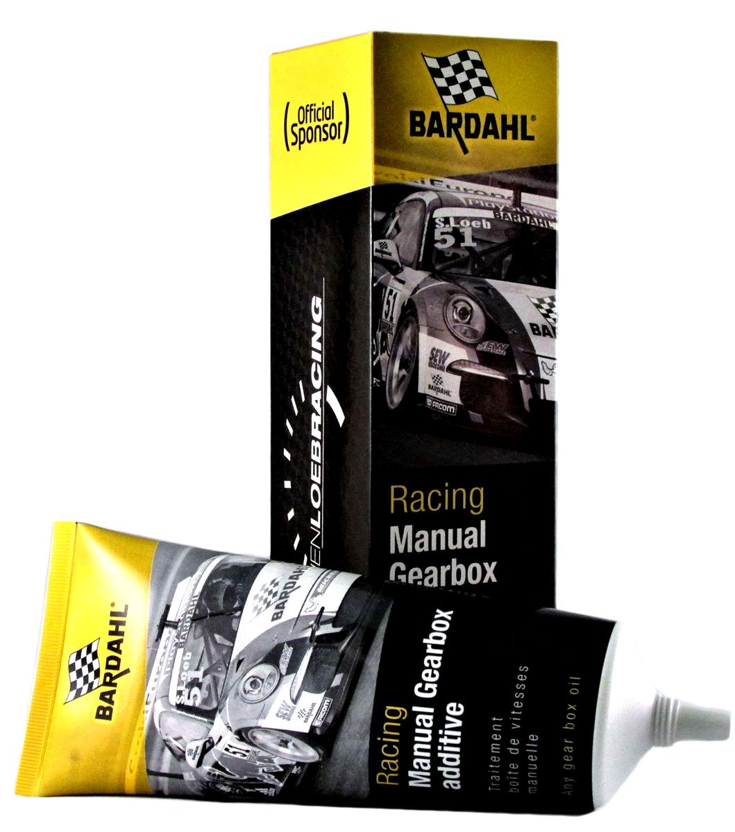Присадка антифрикционная Bardahl Проспорт. Racing Manual Gear Oil Additive, в МКПП, 150 мл13105Концентрат антифрикционной, противоизносной присадки в трансмиссионное масло Bardahl Racing Manual Gearbox Additive, применяемой для механических трансмиссий, дифференциалов и шестерен. Благодаря использованию формулы Bardahl Polar Plus позволяет улучшить защиту, производительность и эффективность механической системы трансмиссии. Присадка совместима со всеми синтетическими, полусинтетическими и минеральными трансмиссионными маслами, соответствующими классификациям API GL-4 и GL-5. Присадку так же можно добавлять в масла, соответствующие стандартам DEXRON, применяется исключительно в махенических коробках передач и дифференциалах. Разработана и испытана совместно с командой Sebastien Loeb Racing.