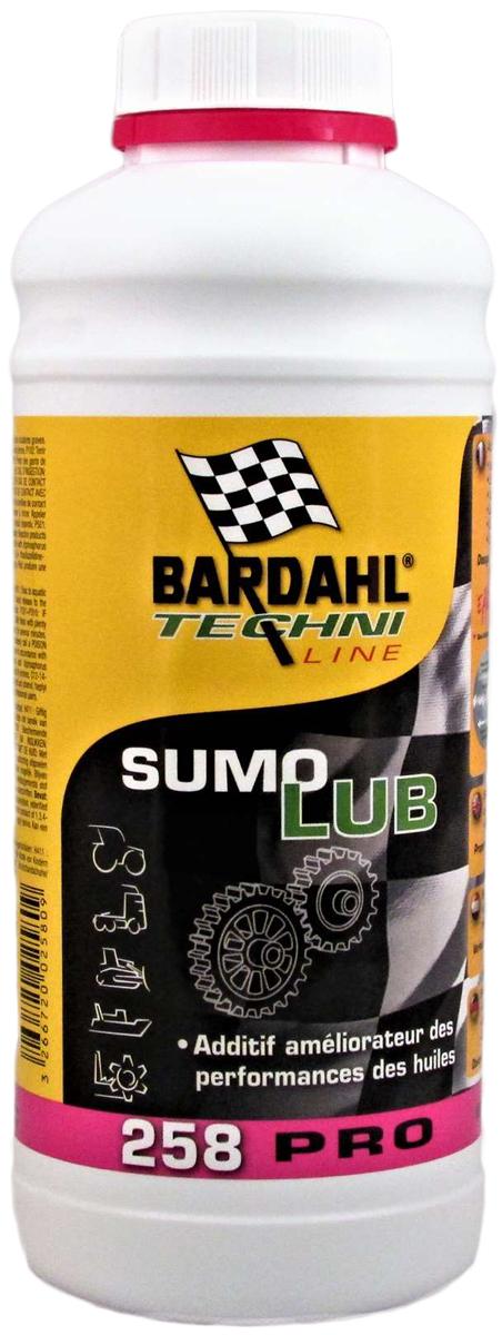 Присадка антифрикционная Bardahl Sumolub, восстанавливающая, в моторное масло, 1 л1205Концентрированная антиизносная присадка для трансмиссионного масла. Действие присадки Bardahl Sumolub основано на принципе притяжения молекулярного слоя масляной пленки к поверхности металлов - формула Bardahl Polar Plus. Присадка Sumolub существенно снижает:- Энергетические затраты на преодоление трения. - Шум, производимый парами трения. Благодаря образованию устойчивого молекулярного слоя на поверхности металла, противостоящего экстремальному давлению и температуре, Sumolub имеет следующие преимущества:Великолепная сопротивляемость экстремальным нагрузкам и износу.
