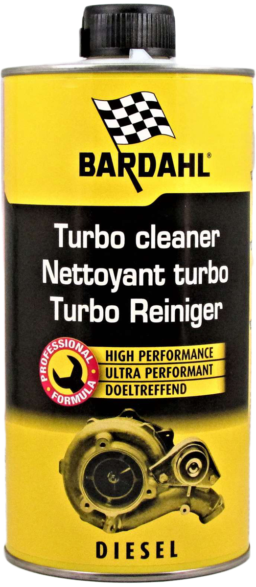 Добавка в топливо Bardahl Очиститель турбины. Turbo Cleaner, 1 л13205Для того, чтобы без разборки устранить проблемы заедания изменяемой геометрии лопаток турбины, фирма Бардаль разработала новую топливную присадку, называемую Turbo Cleaner (Очиститель турбины). Благодаря ее концентрированной формуле, основанной на современной синтетической технологии, Bardahl Turbo Cleaner позволяет эффективно очистить механизм изменяемой геометрии турбины от нагара и сажи. Порядок использования: Когда двигатель прогрет, влить содержимое банки в приблизительно 30 литров топлива (максимум 60 литров). Двигаться предпочтительно на низких передачах с высоким числом оборотов коленчатого вала двигателя (в области 3500 об/мин). По возможности чаще изменять скорость вращения коленчатого вала двигателя. Как можно дольше не пополняйте топливный бак. Для поддержания состояния применять Очиститель турбины Бардаль каждые 5000 км пробега, либо 2 раза в год.