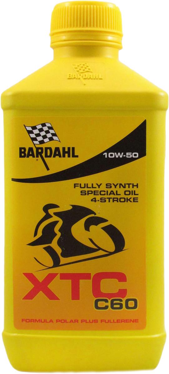 Масло моторное Bardahl ХТС С60 Moto, синтетическое, 10W-50, 1 л153631Масло класса Premium, специально разработано для профессионального внедорожного использования мотоциклов и квадроциклов с интегрированной и не интегрированной коробкой передач, со сцеплением в маслянной ванне и сухим. Самые лучшие синтетические основы и комплекс специальных полимеров позволяют добиться отличных показателей вязкости, термической стабильности, высочайшей производительности и сохраняют смазочный слой в самых экстремальных ситуациях. API SM OEM JASO T903:2006 MA-MA2