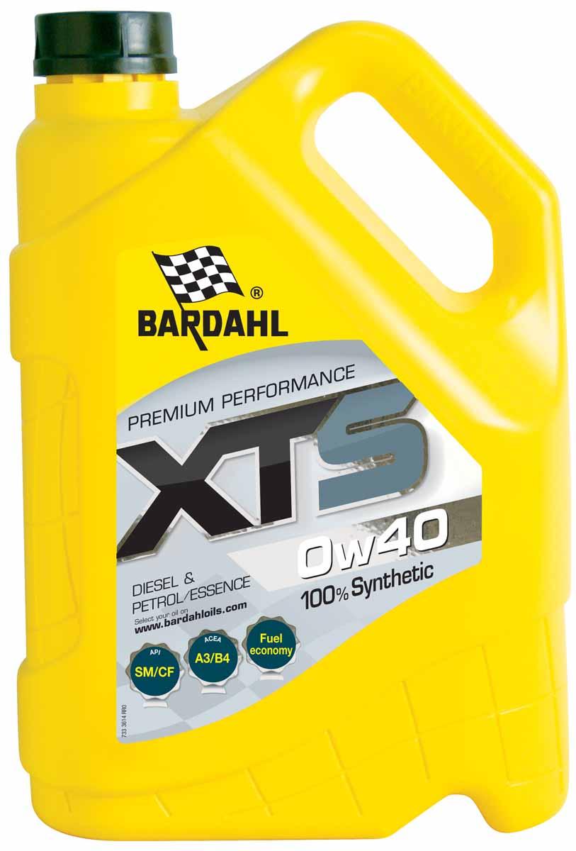 Масло моторное Bardahl XTS, синтетическое, 0W-40, 5 лS03301004Полностью синтетическое моторное масло. Уменьшает трение, устраняет осадок и уменьшает расход топлива. Обладает хорошей общей защитой. Bardahl XTS 5W20 подходит для бензиновых двигателей таких как EcoBoost Ford. ACEA A1/B1 API SN OEM Ford WSS-M2C948-B