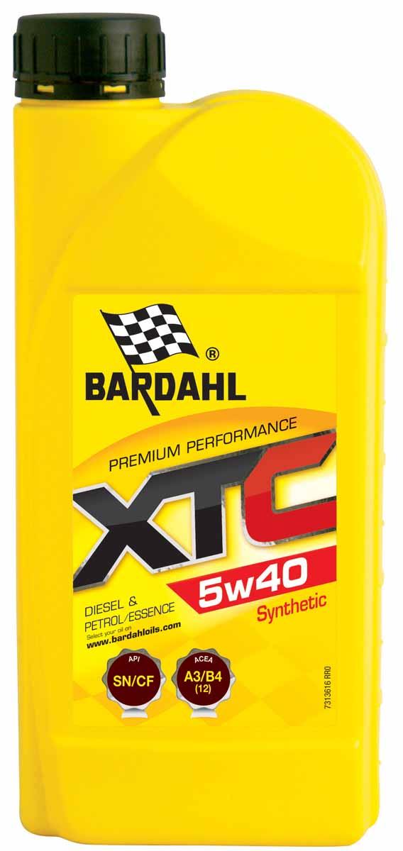 Масло моторное Bardahl XTС, НС-синтетическое, 5W-40, 1 л1942046Высококачественное полусинтетическое моторное масло для бензиновых и дизельных двигателей, с турбонаддувом или без. Расширенный интервал замены масла. Отличная защита при холодном запуске и в любых скоростных режимах. Bardahl XTC 10W40 можно использовать круглый год. Очень хорошая текучесть при низкой температуре. ACEA A3/B4 (12) API SL/CF OEM MB 229.1, 502.00/505.00