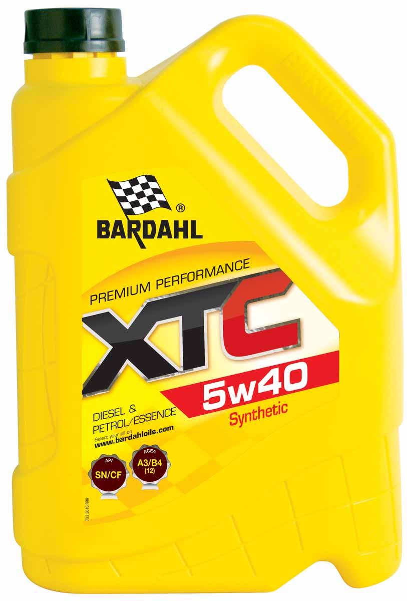 Масло моторное Bardahl XTС, НС-синтетическое, 5W-40, 5 л1942046Высококачественное полусинтетическое моторное масло для бензиновых и дизельных двигателей, с турбонаддувом или без. Расширенный интервал замены масла. Отличная защита при холодном запуске и в любых скоростных режимах. Bardahl XTC 10W40 можно использовать круглый год. Очень хорошая текучесть при низкой температуре. ACEA A3/B4 (12) API SL/CF OEM MB 229.1, 502.00/505.00
