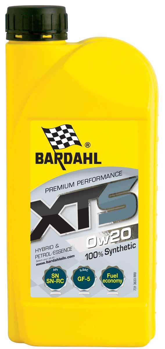 Масло моторное Bardahl XTS, синтетическое, 0W-20, 1 л1942003100% синтетическое моторное масло изготовлено с применением последних технологий уменьшающих трение. Масло обладает большой моющей способностью и уменьшает расход топлива. Bardahl XTS 0W40 обладает высокой устойчивостью к сдвигу. Оно подходит для бензиновых и дизельных двигателей большой мощности а также, с прямым впрыском и турбонаддувом или без него. ACEA A3/B4 API SM/CF OEM BMW LL-01, MB 229.3, Porsche A40,VW 502.00/505.00, RN0700/0710