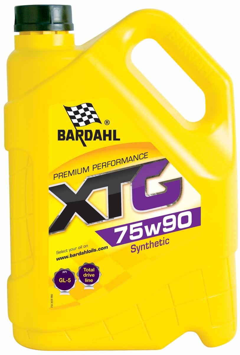 Масло трансмиссионное Bardahl XTG, синтетическое, 75W90, 5 лS03301004Синтетическое масло для трансмиссии с тяжелым и обычным режимом эксплуатации. Разработано для смазки механических трансмиссий, дифференциалов и коробок передач работающих в условиях тяжелых нагрузок, высоких скоростей и температуры. Особенно подходит для высоконагруженных гипоидных передач. Обладает отличной термической стабильностью. Спецификации OEM MIL L-2105D, MACK GO-G, MAN 342N/342 Type M1, ZF TE-ML 05A/12A.