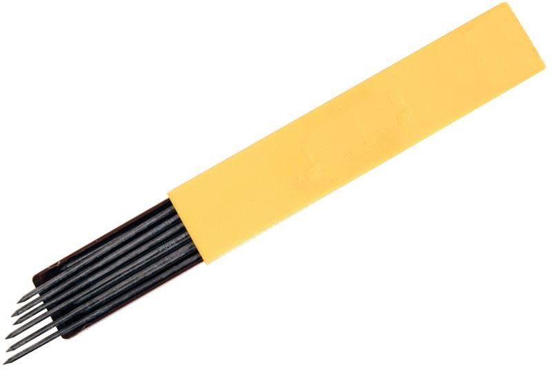 Koh-I-Noor Грифель для цанговых карандашей 2 мм твердостью HB 12 шт2010440Запасные грифели для цанговых карандашей. Грифели подходит как для чертежных, так и для оформительских работ. Возможно использовать с любым механическим карандашом. Диаметр грифеля – 2 мм, твердость НB.