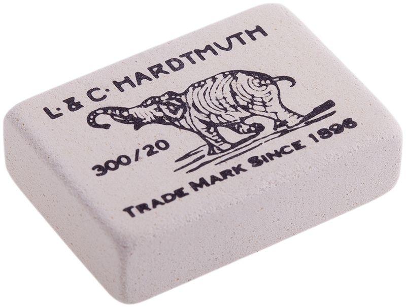 Koh-I-Noor Ластик Elephant 300/20FS-36052Знаменитый ластик Elephant - со слоном. Мягкий ластик для чернографитных карандашей и чернил. Не повреждает бумагу, обеспечивает чистое и аккуратное стирание. Идеально стирает следы мягких, средних и твердых карандашей на любой поверхности. Изготовлен из натурального каучука.
