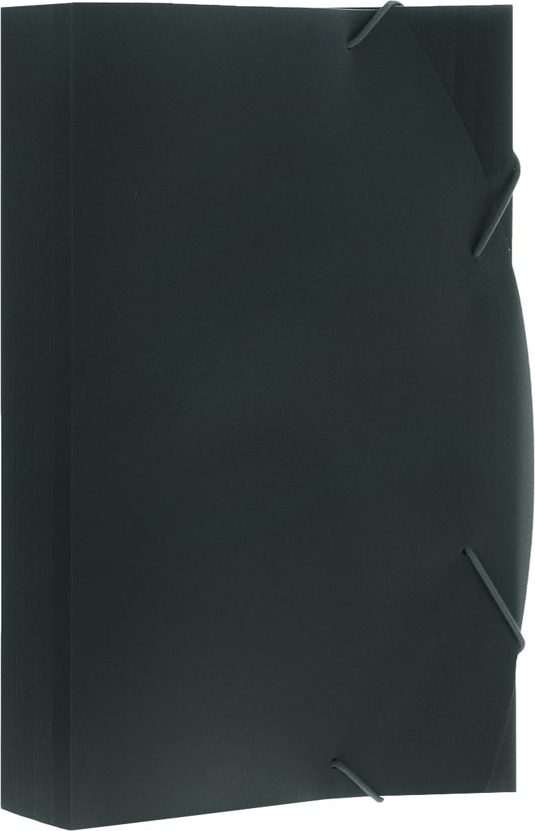Albion Папка на резинках Basic цвет зеленый AL10908FS-54100Папка Albion Basic изготовлена из полужесткого пластика высокого качества. Предназначена для транспортировки и хранения документов формата А4.Имеет три клапана. Толщина папки легко регулируется при помощи дополнительных насечек на всех клапанах. Вмещает в себя до 150 листов.Папка - это незаменимый атрибут для любого студента, школьника или офисного работника. Такая папка надежно сохранит ваши бумаги и сбережет их от повреждений, пыли и влаги.