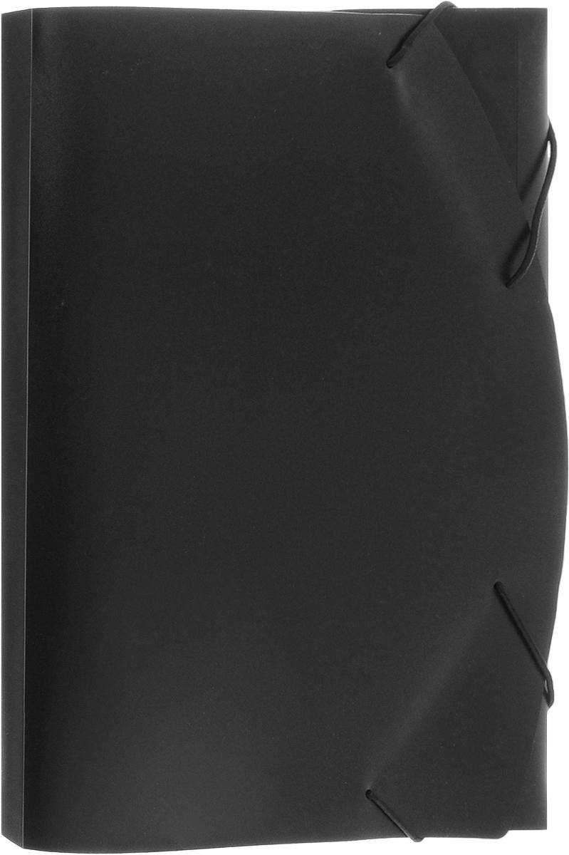 Albion Папка на резинке Basic цвет черныйFS-36052Папка Albion Basic изготовлена из пластика высокого качества. Предназначена для транспортировки и хранения документов формата А4.Состоит из одного вместительного отделения. Закрывается папка при помощи резинки.Папка - это незаменимый атрибут для любого студента, школьника или офисного работника. Такая папка надежно сохранит ваши бумаги и сбережет их от повреждений, пыли и влаги.