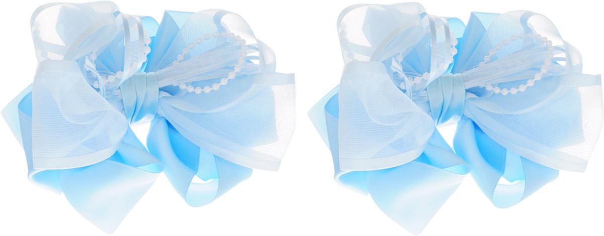 Babys Joy Бант для волос на резинке цвет голубой с бусинами 2 шт MN 203Серьги с подвескамиБант для волос на резинке Babys Joy позволит не только убрать непослушные волосы с лица, но и придать образу романтичности и очарования. Такая резинка для волос подчеркнет уникальность вашей маленькой модницы и станет прекрасным дополнением к ее неповторимому стилю. В комплекте - 2 банта.