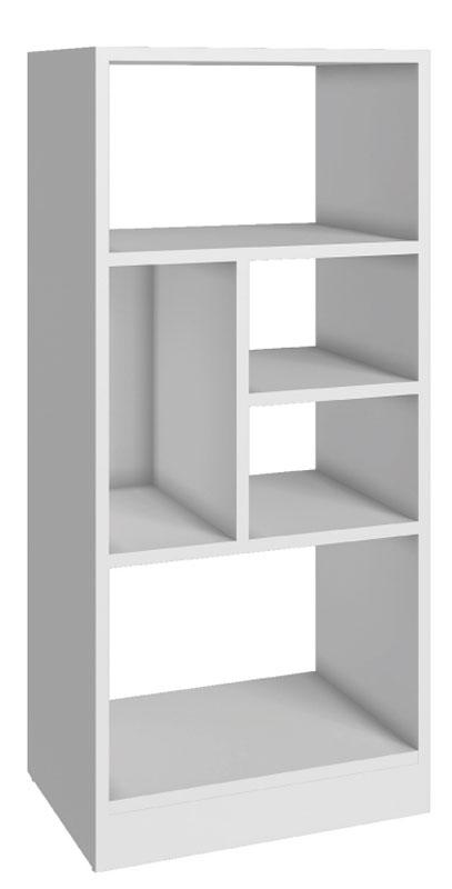 Стеллаж Manhattan Comfort, цвет: белый. 24AMC-06 whiteFS-91909Качественная и стильная мебель Manhattan Comfort для дома и дачи. Производство Бразилия. Страна бренда: Соединенные Штаты.
