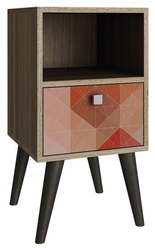 Тумба Manhattan Comfort, цвет: коричневый. 1AMC-12725804Качественная и стильная мебель Manhattan Comfort для дома и дачи. Производство Бразилия. Страна бренда: Соединенные Штаты.