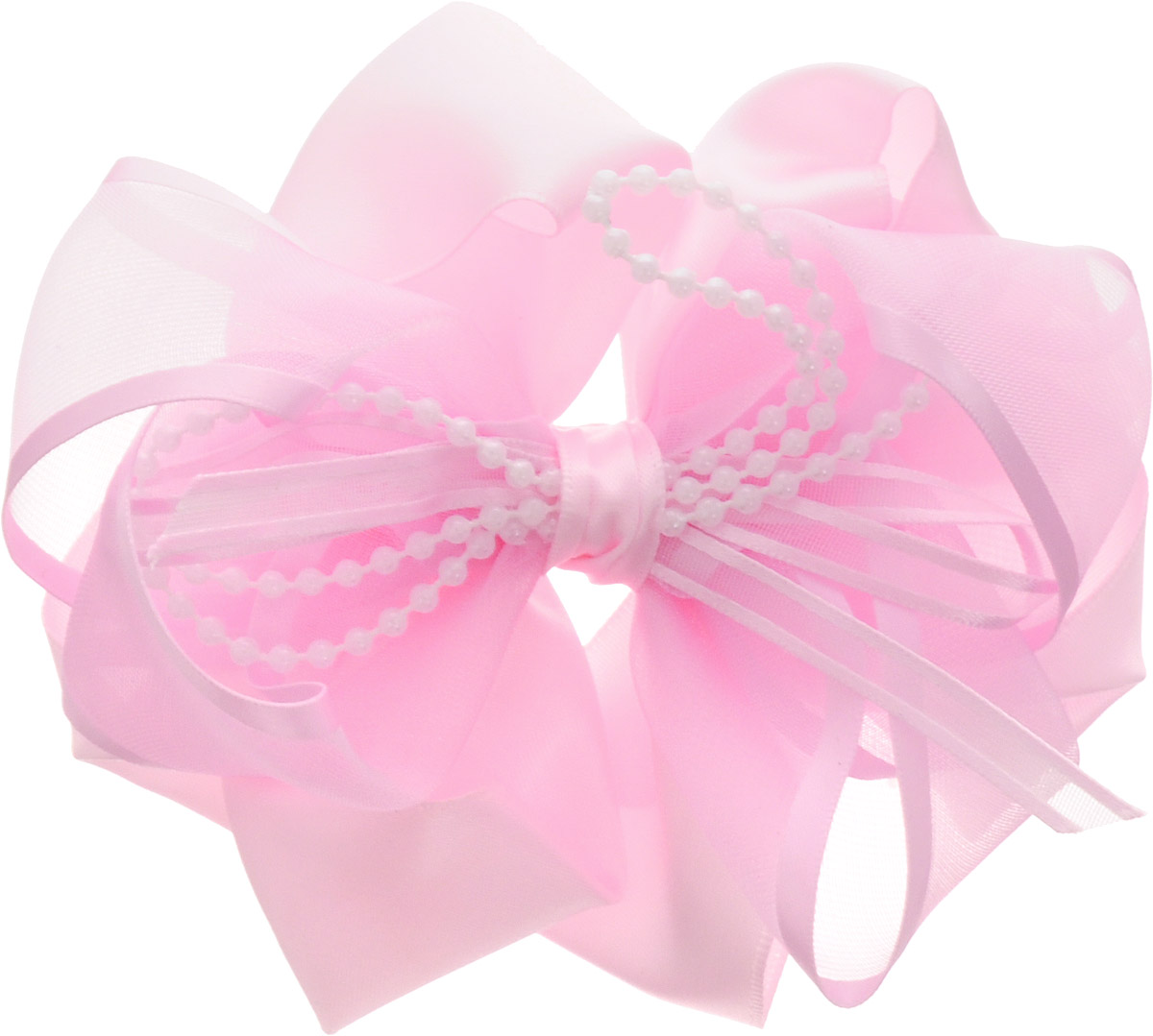 Babys Joy Бант для волос цвет розовый с бусинами MN 203339-UL8939Бант для волос на резинке Babys Joy позволит не только убрать непослушные волосы с лица, но и придать образу романтичности и очарования. Такая резинка для волос подчеркнет уникальность вашей маленькой модницы и станет прекрасным дополнением к ее неповторимому стилю.