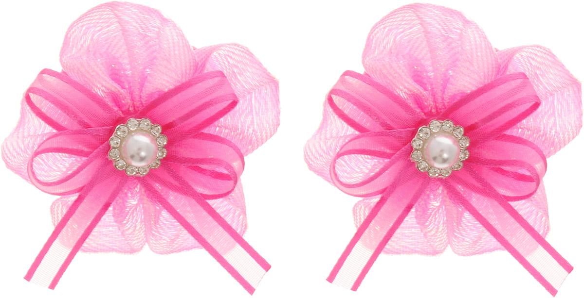 Babys Joy Резинка для волос цвет розовый 2 шт MN 133/2Satin Hair 7 BR730MNBabys Joy Резинка для волос цвет розовый 2 шт MN 133/2