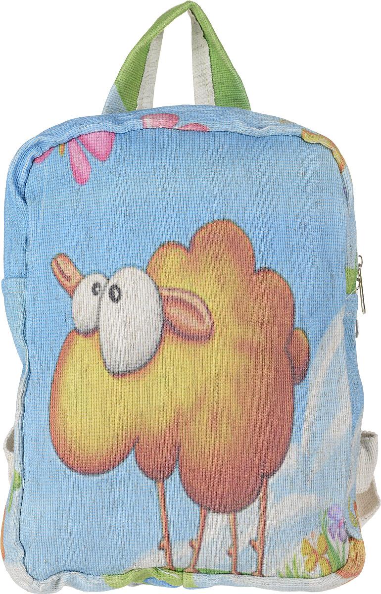 Рюкзак женский Almed Lamb, цвет: светло-бежевый3-47670-00504ЭКО-рюкзак производится из натуральных материалов - Лен. Экологичность используемого сырья, прочность и долговечность рюкзаков являются неоспоримыми преимуществами данной продукции. Нанесение рисунка происходит способом прямой печати. Изображение выдерживает более 60 стирок без существенной потери качества.