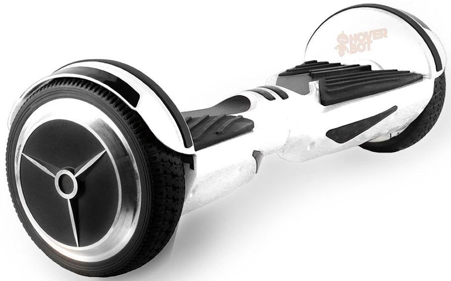 Гироскутер Hoverbot A-6, цвет: белыйAIRWHEEL Q3-340WH-WHITEГироскутер Hoverbot A-6 или как мы ее называем Genesis выполнен в красивом агрессивном стиле и больше напоминает спорткар. При своих компактных размерах и широких колесах дает хороший разгон и отлично держит сцепление с дорогой. Короткая прорезиненная платформа с протектором отлично фиксирует ногу и позволяет уверенно маневрировать на большой скорости. Качественный противоударный пластик отлично справляется со своими защитными функциями, а резиновые полоски-накладки на крыльях гироскутера - смягчение ударов. Кстати, благодаря облегченной раме, гироскутер А-6 имеет легкий вес и удобно переносится за центральную часть. Спереди очень яркие синие ходовые огни ярко освещают дорогу в темное время суток, на задней части красные габаритные огни. А-6 имеет три режима работы двигателей, которые переключаются механически с устройства кнопкой включения. Для переключения между режимами необходимо удерживать кнопку включения доски и ожидать смены цветового сигнала в центре борда. Hoverbot A-6 подойдет как уверенным райдерам, так и начинающим пользователям, которые готовы к скорости и драйву.