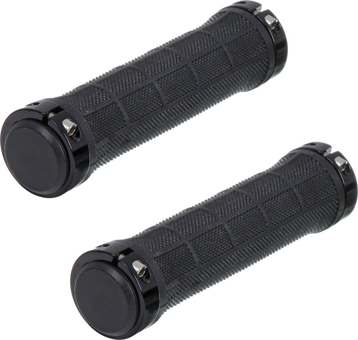 Грипсы STG HL-G309, цвет: черный, 130 ммГризлиГрипсы предназначены для увеличения сцепления рук с рулём. Длина 130 мм.