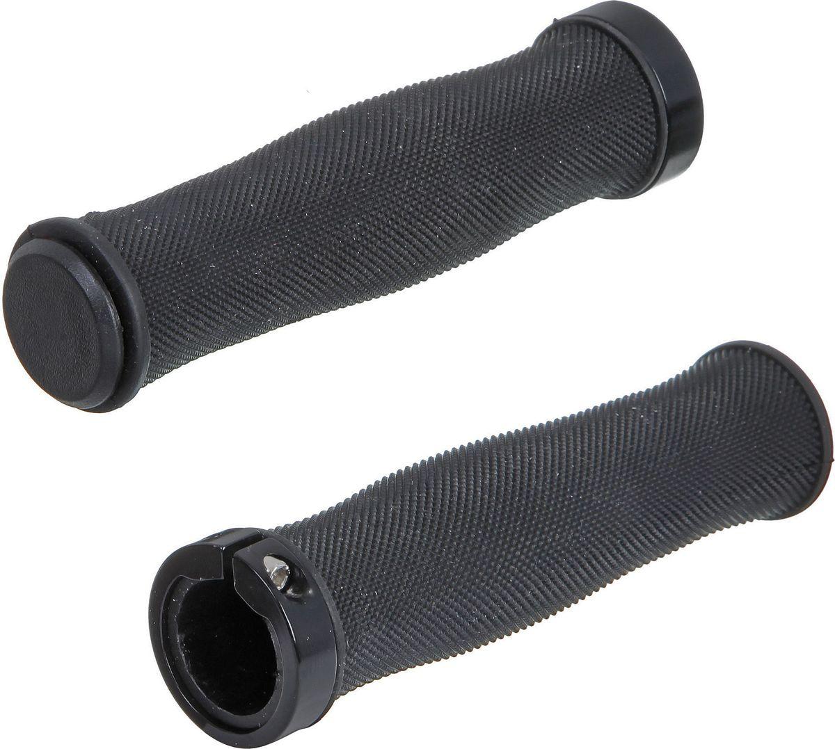 Грипсы STG HL-G217, цвет: черный, 130 ммГризлиГрипсы предназначены для увеличения сцепления рук с рулём. Длина 130 мм.