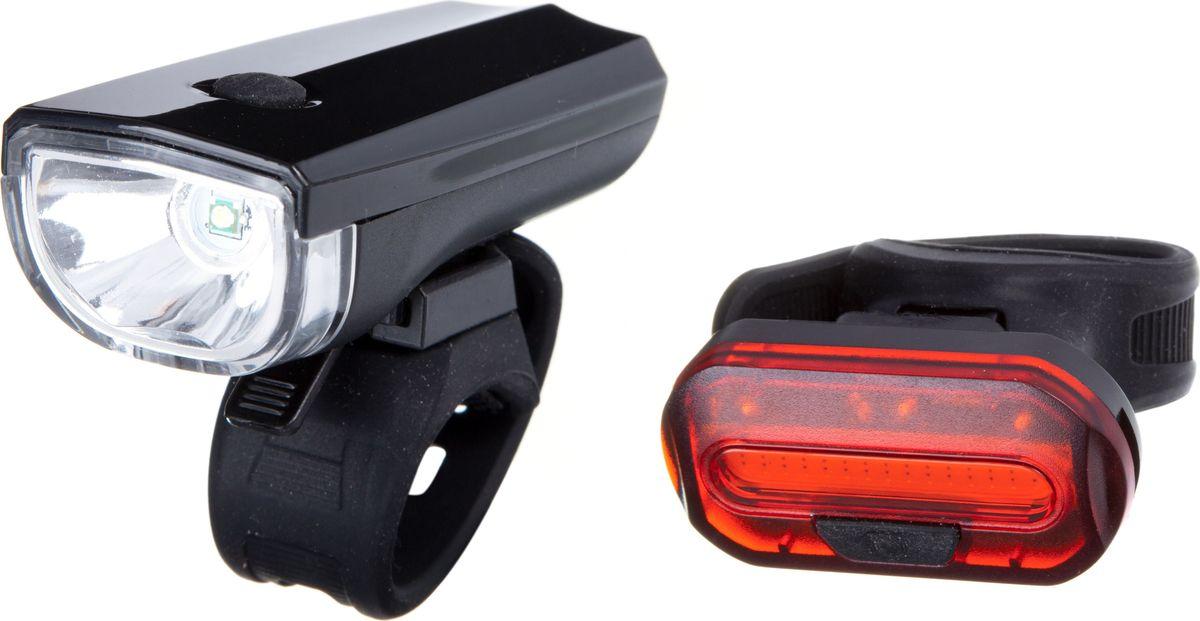 Комплект фонарей велосипедных STG JY7024+6068T, задний, переднийMW-1462-01-SR серебристыйЛегкий и компактный передний и задний фонарь. Экономичное потребление энергии для долгой работы.