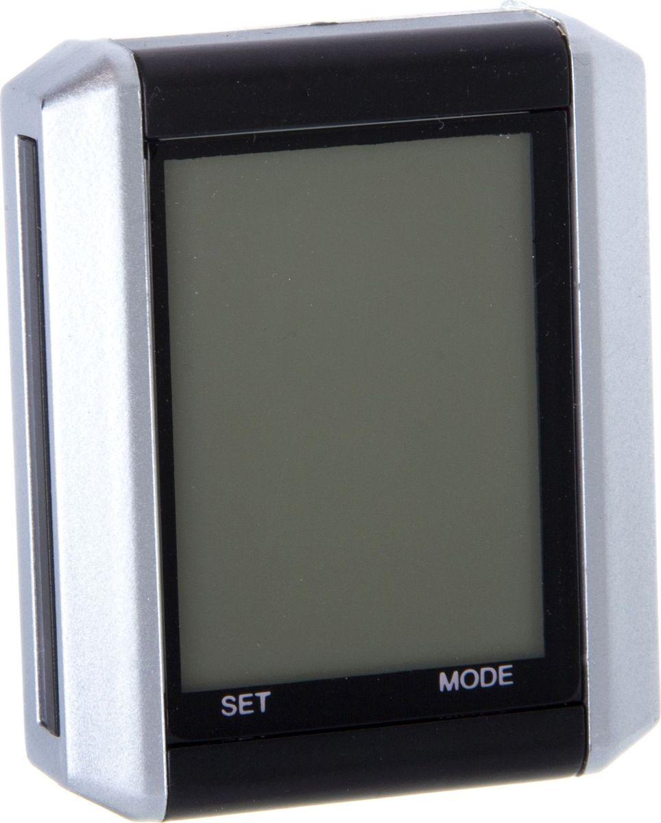 Велокомьютер STG JY-4012E-L, проводной, 15 функцийХ81879Проводной велокомьютер STG JY-4012E-L с 15 функциями поможет вам составить оптимальную программу тренировок и отслеживать свой прогресс. Он прост в использовании и подходит даже начинающим спортсменам.Функции: текущая, средняя и максимальная скорость; изменение средней скорости; текущее время и время в пути; текущий и общий километраж; подсветка и автоматическое выключение экрана; расход калорий; сканирование; температура; секундомер; напоминание о техобслуживании.