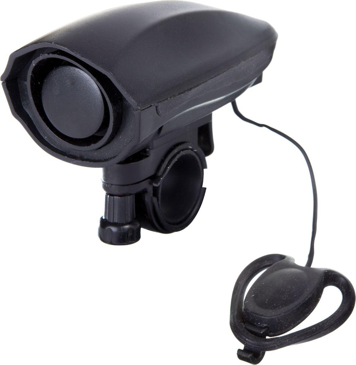 Звонок велосипедный STG JY575J, электронный, 2 звука, мощность 120 ДБASS-02 S/MЭлектронный звонок STG JY575J, выполненный из пластика и металла, предупредит пешеходов и других велосипедистов о вашем приближении, а также обеспечит безопасность вашего движения. Звонок предназначен для крепления на руль. Он имеет 2 звука: пищание и пение птиц.Мощность: 120 ДБ. В качестве элемента питания используются 3 батарейки типа ААА.