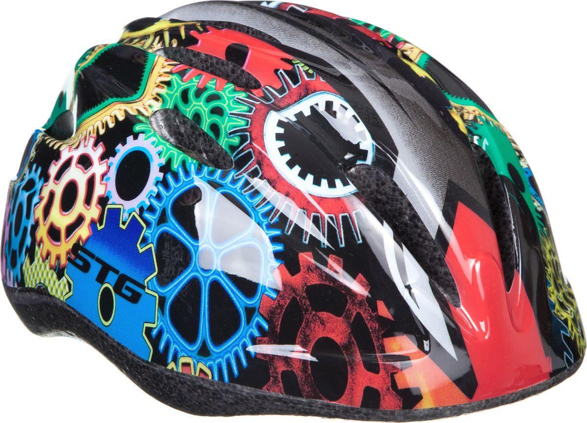 Шлем STG HB6-3-C. Размер S (48-52 см)Z90 blackДетский велошлем обеспечит безопасность ребенка во время катания. Шлем является обязательным атрибутом, особенно для маленьких любителей покататься на велосипеде, беговеле или самокате, которые только познают азы самостоятельного катания. Размер S (48-52 см)